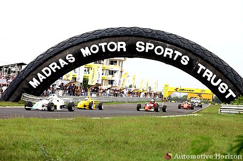 The Madras Motor Sports Club Race Track Chennai Focus A