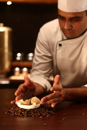 Chef Balaji and Filter Coffee Icecream