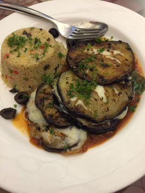 Couscous Pilaf Aubergine Sandwich - Chennaifocus.in