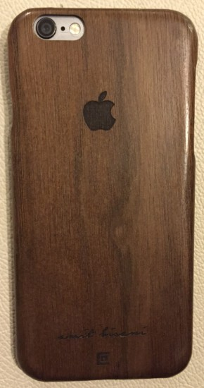 Veneer wood Designer Mobile Case - Chennaifocus.in