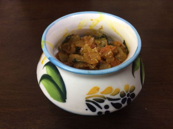 Aromatic Methi curry - Chennai Focus